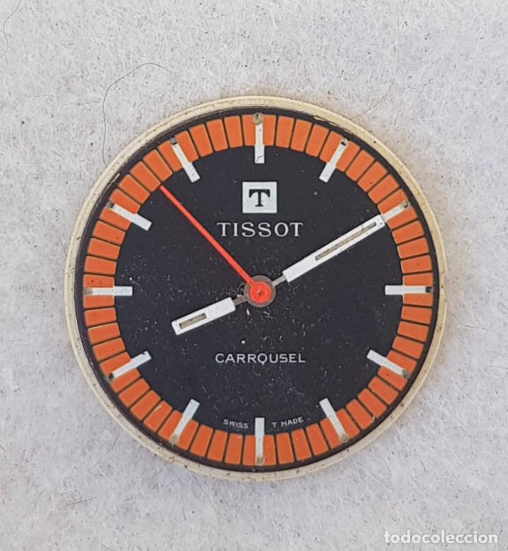 Relojes - Tissot: TISSOT CARROUSEL MECANICO CALIBRE + ESFERA + AGUJAS + BATA MANUFACTURA 781-1 - Foto 3 - 239421880