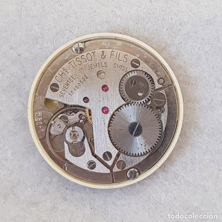 Relojes - Tissot: TISSOT CARROUSEL MECANICO CALIBRE + ESFERA + AGUJAS + BATA MANUFACTURA 781-1 - Foto 5 - 239421880
