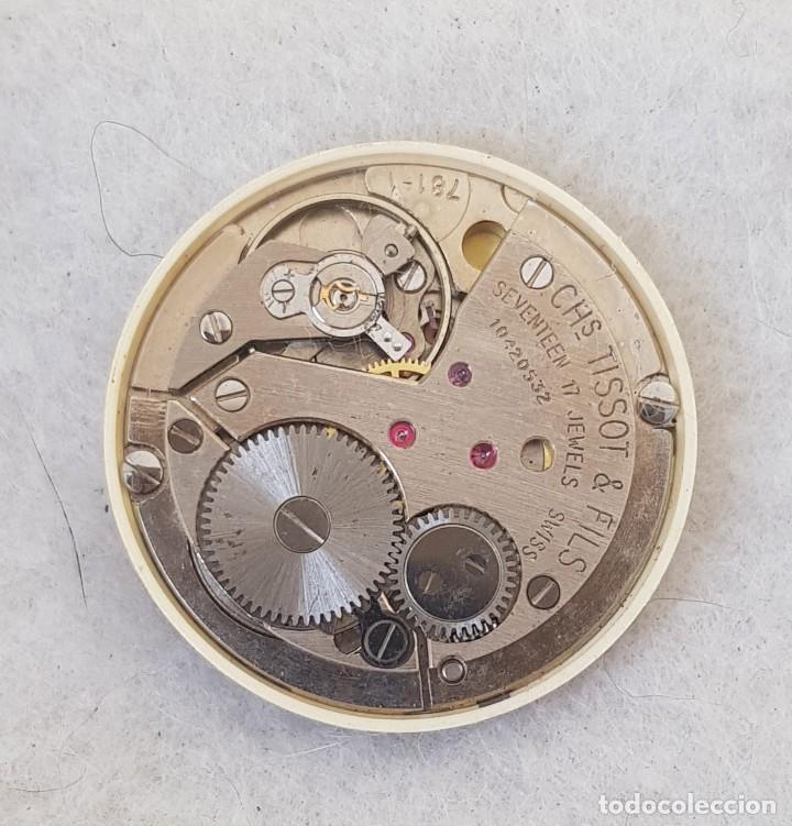 Relojes - Tissot: TISSOT CARROUSEL MECANICO CALIBRE + ESFERA + AGUJAS + BATA MANUFACTURA 781-1 - Foto 6 - 239421880