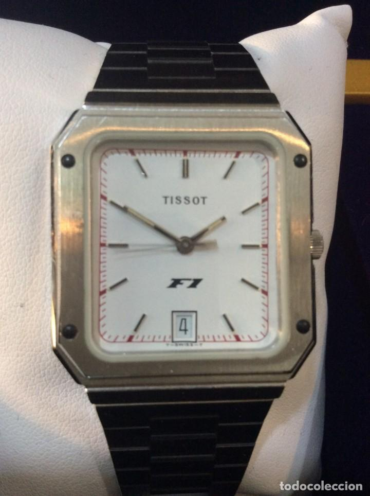 Relojes - Tissot: RELOJ TISSOT F1 QUARTZ - VINTAGE AÑOS 70 - ¡¡¡NUEVO!!! (VER FOTOS) - Foto 3 - 239493250