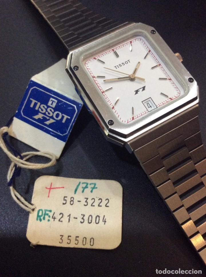 Relojes - Tissot: RELOJ TISSOT F1 QUARTZ - VINTAGE AÑOS 70 - ¡¡¡NUEVO!!! (VER FOTOS) - Foto 4 - 239493250