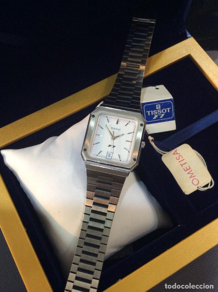 Relojes - Tissot: RELOJ TISSOT F1 QUARTZ - VINTAGE AÑOS 70 - ¡¡¡NUEVO!!! (VER FOTOS) - Foto 5 - 239493250