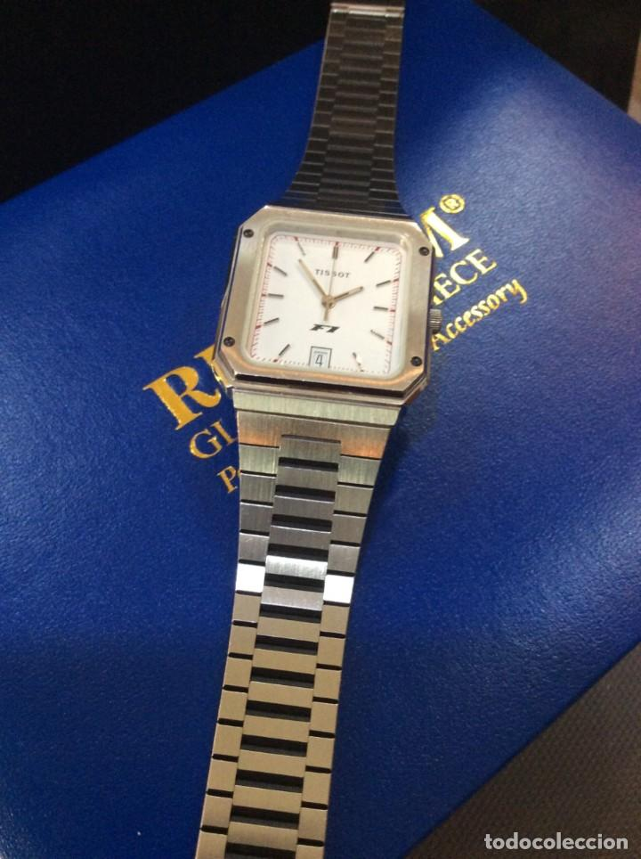 Relojes - Tissot: RELOJ TISSOT F1 QUARTZ - VINTAGE AÑOS 70 - ¡¡¡NUEVO!!! (VER FOTOS) - Foto 6 - 239493250