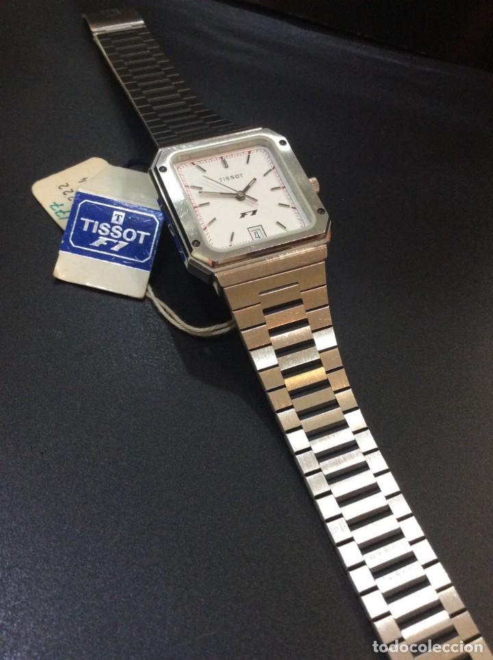 Relojes - Tissot: RELOJ TISSOT F1 QUARTZ - VINTAGE AÑOS 70 - ¡¡¡NUEVO!!! (VER FOTOS) - Foto 7 - 239493250
