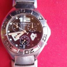 Relojes - Tissot: RELOJ TISSOT 1853 CUARZO .LE FALTA LA CORONA .MIDE 43 MM DIAMETRO. Lote 244194935