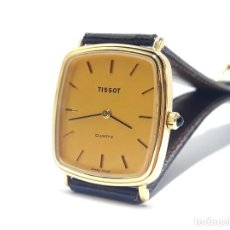 Relojes - Tissot: ELEGANTE RELOJ TISSOT EN PLAQUÉ DE ORO Y NUEVO. Lote 244554060