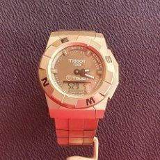 Relojes - Tissot: RELOJ TISSOT 1853 TOUCH CHRONO COMPASS TITANIUM FUNCIONA .MIDE 43 MM DIAMETRO. Lote 244855980