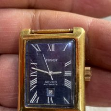 Relojes - Tissot: TISSOT SEVEN AUTOMATICO PLAQUE ORO UNISEX MADE IN SWISSO . VER FOTOS. Lote 246262450