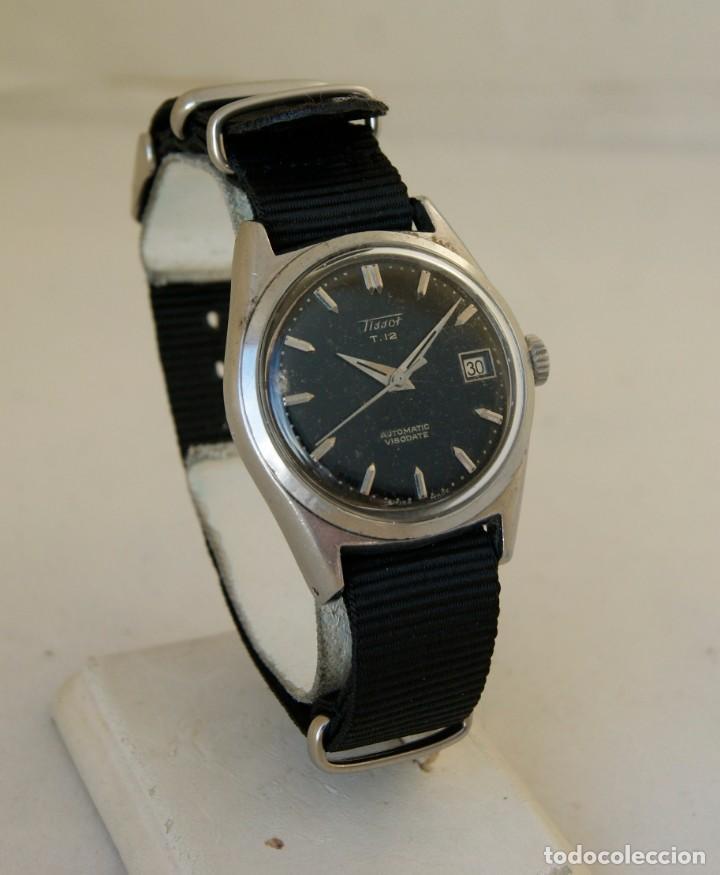 TISSOT VISODATE T12 AUTOMATICO MILITAR FUNCIONANDO RARO (Relojes - Relojes Actuales - Tissot)