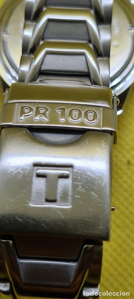 Relojes - Tissot: Reloj caballero (Vintage) Tissot de cuarzo Suizo acero, calendario cuatro, correa de acero original - Foto 13 - 248448225
