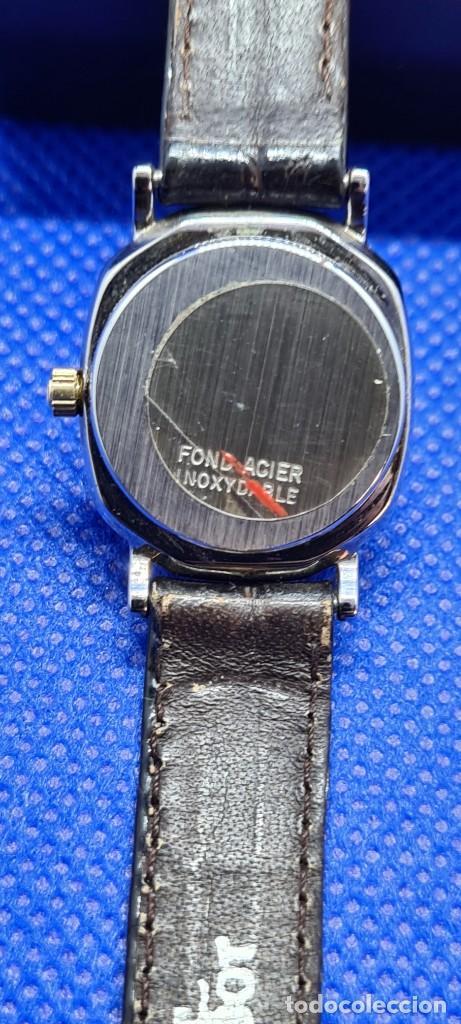 Relojes - Tissot: Reloj señora Tissot Boutique cuarzo chapado de oro, esfera blanca, correa cuero marrón nueva sin uso - Foto 9 - 248618635