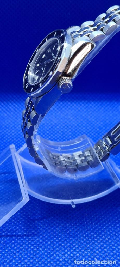Relojes - Tissot: Reloj señora Tissot PR100 cuarzo acero, bisel giratorio, esfera negra, correa acero original Tissot. - Foto 6 - 248684570
