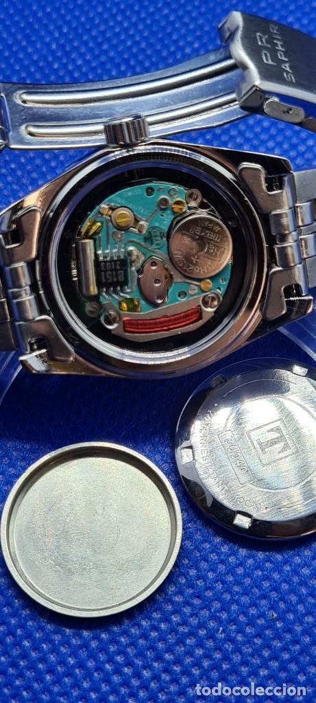 Relojes - Tissot: Reloj señora Tissot PR100 cuarzo acero, bisel giratorio, esfera negra, correa acero original Tissot. - Foto 9 - 248684570