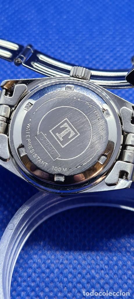 Relojes - Tissot: Reloj señora Tissot PR100 cuarzo acero, bisel giratorio, esfera negra, correa acero original Tissot. - Foto 16 - 248684570