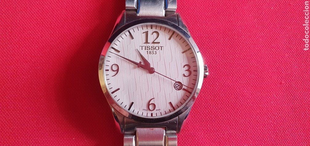 RELOJ TISSOT 1853 CUARZO NO FUNCIONA. MIDE 40 MM DIAMETRO (Relojes - Relojes Actuales - Tissot)