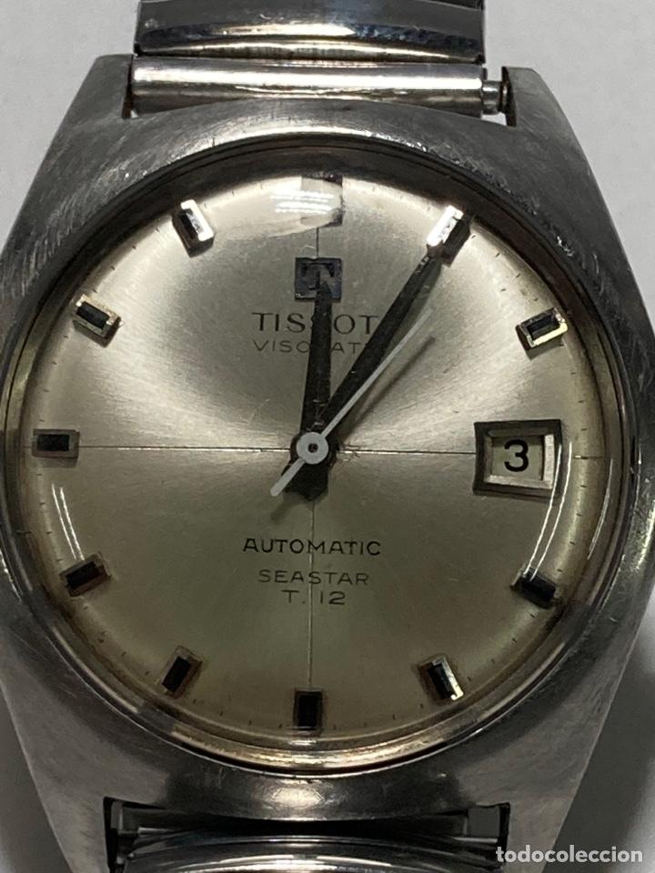 TISSOT VISODATE SEASTAR T12. ACERO. AUTOMÁTICO. AÑOS 60. CALENDARIO (Relojes - Relojes Actuales - Tissot)