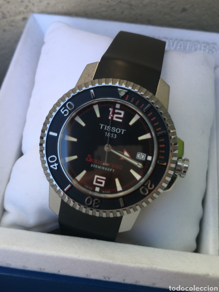 Relojes - Tissot: ✅C2/5 Reloj Tissot Diver NUEVO Quartz - Foto 2 - 253552735