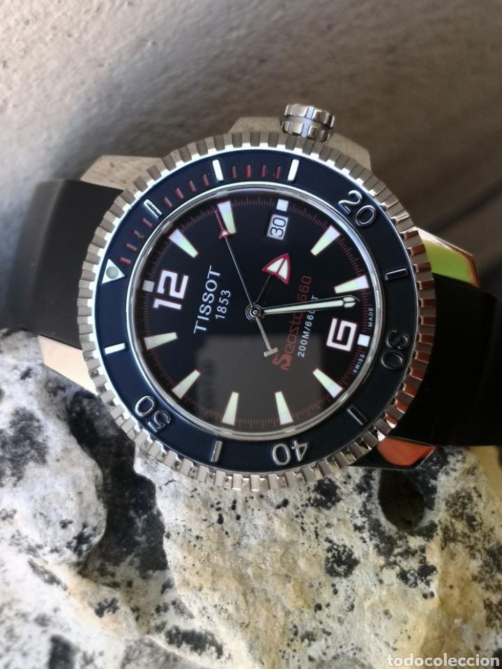 Relojes - Tissot: ✅C2/5 Reloj Tissot Diver NUEVO Quartz - Foto 6 - 253552735