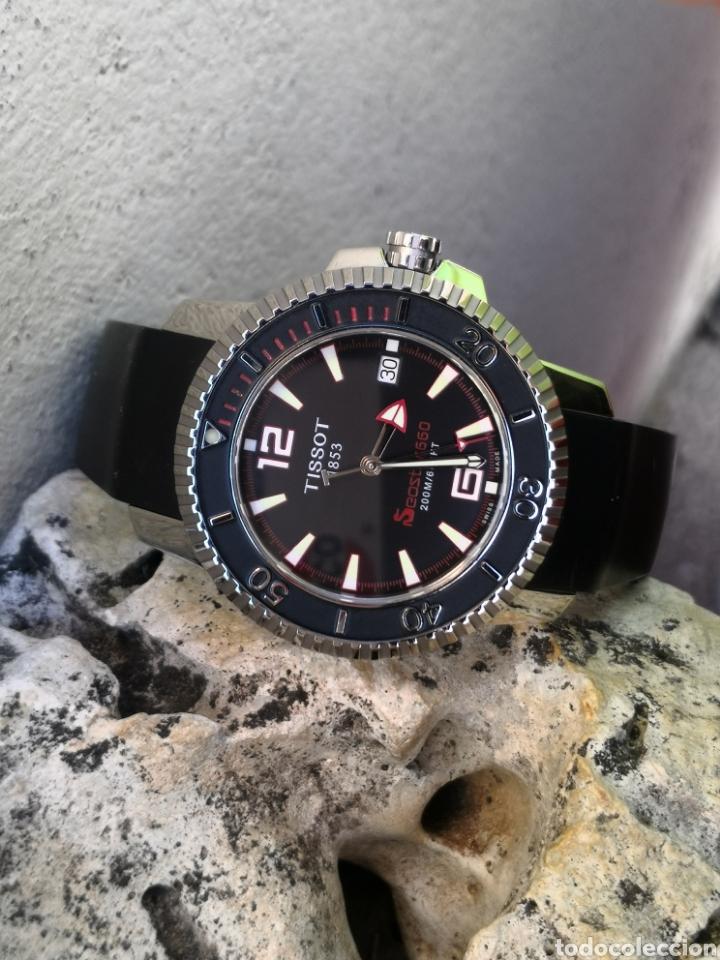 Relojes - Tissot: ✅C2/5 Reloj Tissot Diver NUEVO Quartz - Foto 8 - 253552735