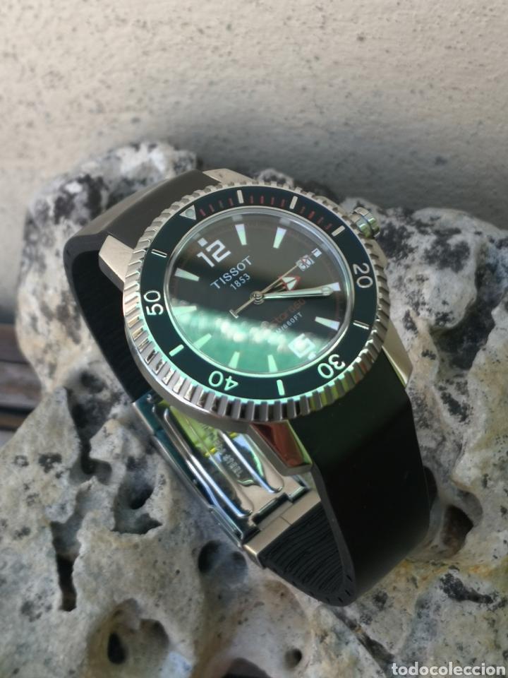 Relojes - Tissot: ✅C2/5 Reloj Tissot Diver NUEVO Quartz - Foto 9 - 253552735