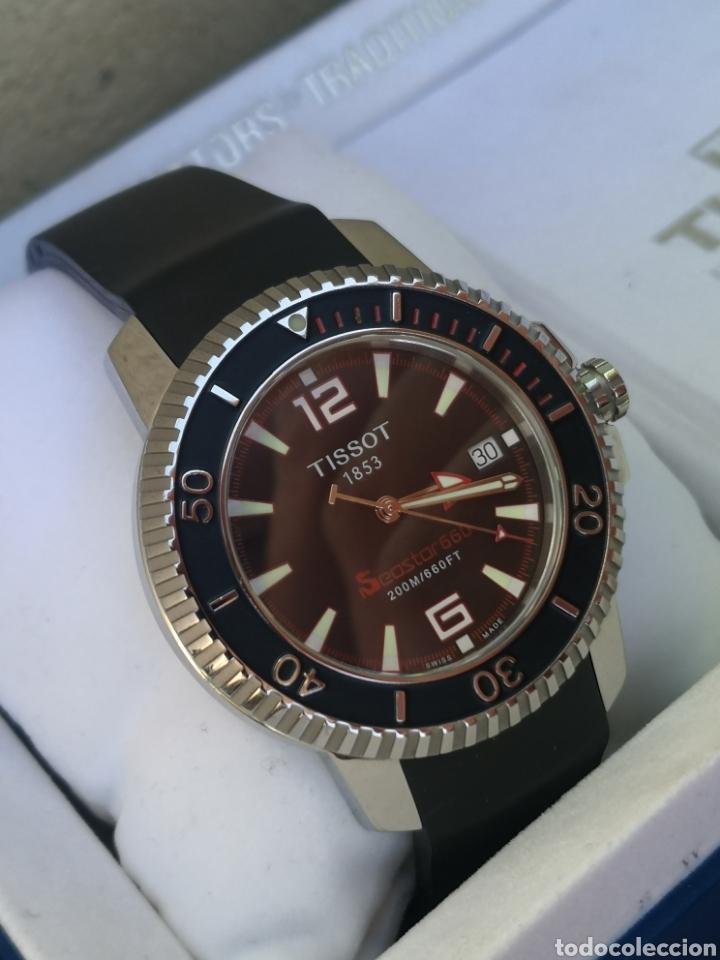 Relojes - Tissot: ✅C2/5 Reloj Tissot Diver NUEVO Quartz - Foto 10 - 253552735