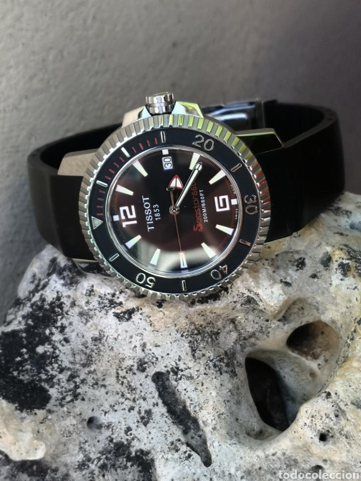 Relojes - Tissot: ✅C2/5 Reloj Tissot Diver NUEVO Quartz - Foto 11 - 253552735