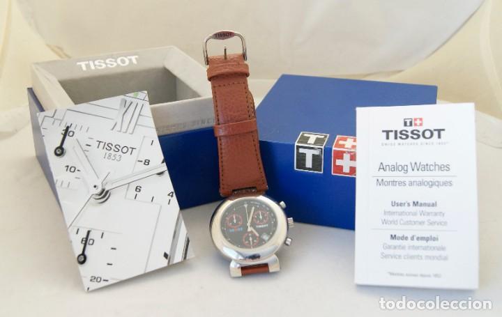 TISSOT MARTINI RACING CRONOGRAFO FUNCIONANDO TIM 385.110 (Relojes - Relojes Actuales - Tissot)