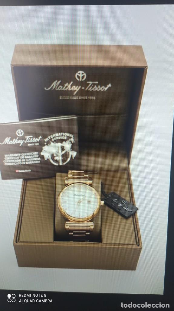 Relojes - Tissot: Reloj Mathey-Tissot Cuarzo caballero. - Foto 8 - 257325540