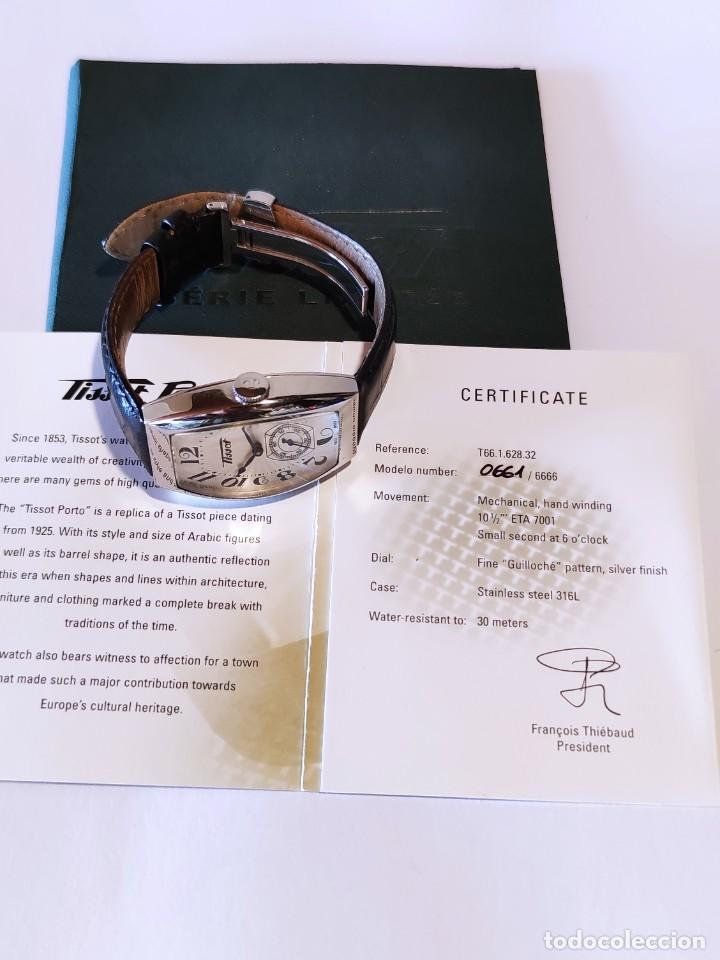 Relojes - Tissot: Reloj Tissot Porto 1925 Reedición - Edición limitada - Num 0661/6666 - 2002 - Foto 2 - 261365925