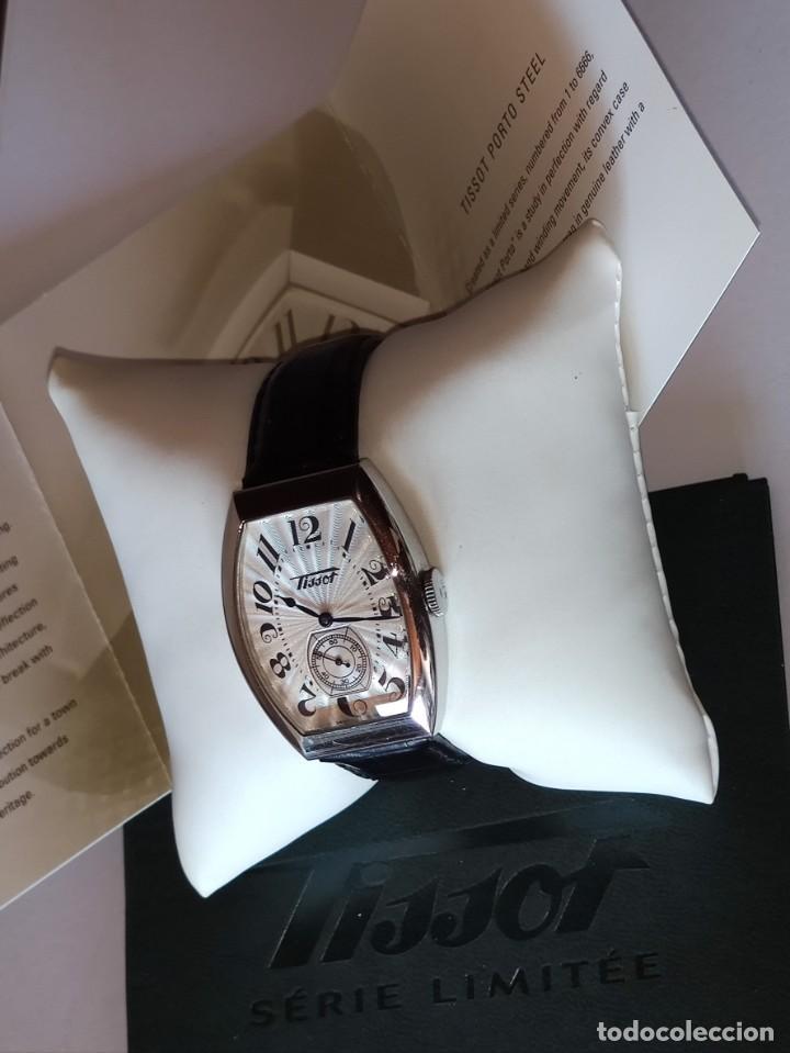 Relojes - Tissot: Reloj Tissot Porto 1925 Reedición - Edición limitada - Num 0661/6666 - 2002 - Foto 4 - 261365925