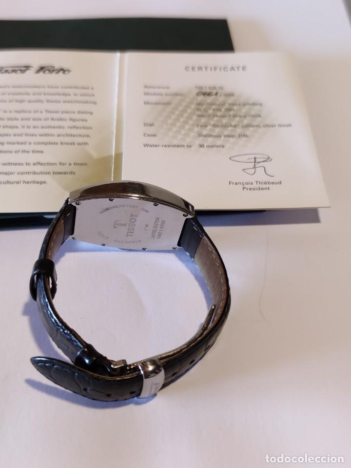 Relojes - Tissot: Reloj Tissot Porto 1925 Reedición - Edición limitada - Num 0661/6666 - 2002 - Foto 7 - 261365925