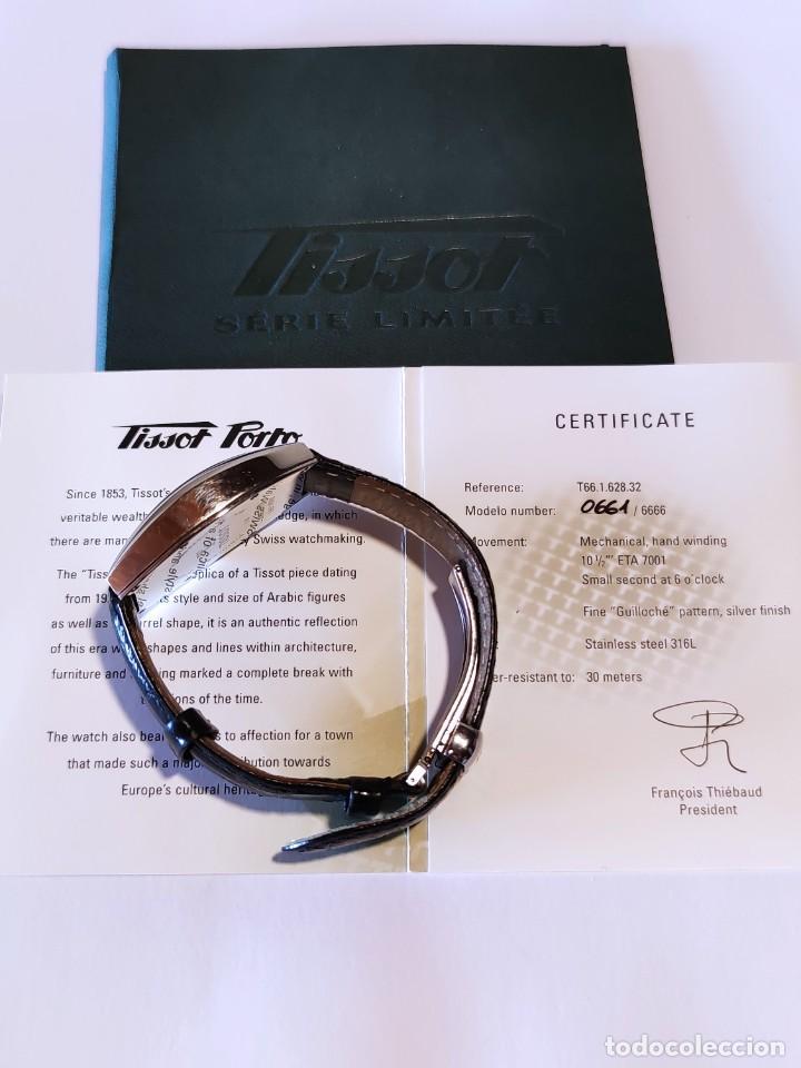 Relojes - Tissot: Reloj Tissot Porto 1925 Reedición - Edición limitada - Num 0661/6666 - 2002 - Foto 9 - 261365925