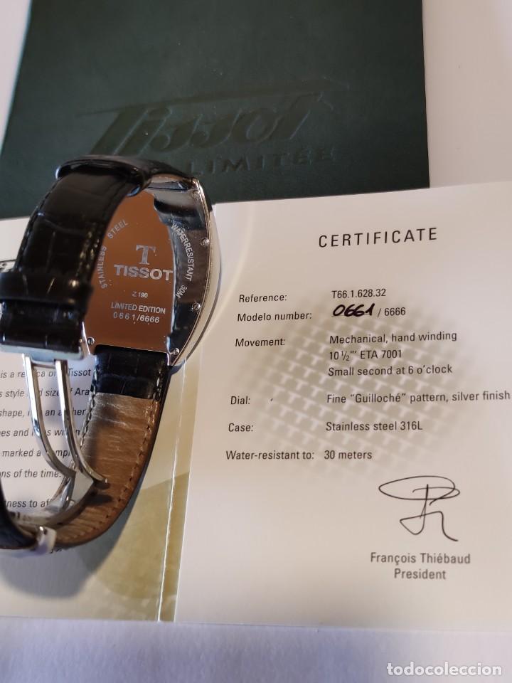 Relojes - Tissot: Reloj Tissot Porto 1925 Reedición - Edición limitada - Num 0661/6666 - 2002 - Foto 10 - 261365925