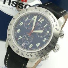 Relojes - Tissot: RELOJ DE CUARZO TISSOT CRONÓGRAFO 1853, REF. S762/862 ACERO 44MM CON CAJA ORIGINAL. Lote 262259220