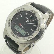 Relojes - Tissot: RELOJ DE CUARZO TISSOT T-TOUCH MULTIFUNCIÓN TÁCTIL Z254/354 CON CORREA LONGINES DE SEGUNDA MANO. Lote 262704945