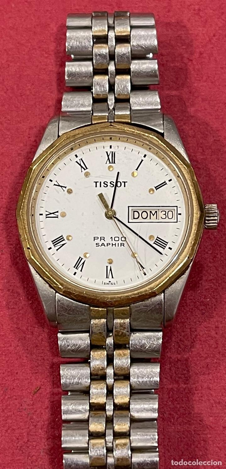 Relojes - Tissot: Reloj de pulsera, Tissot Saphir PR100. Funcionando. Armis original. - Foto 2 - 266371313