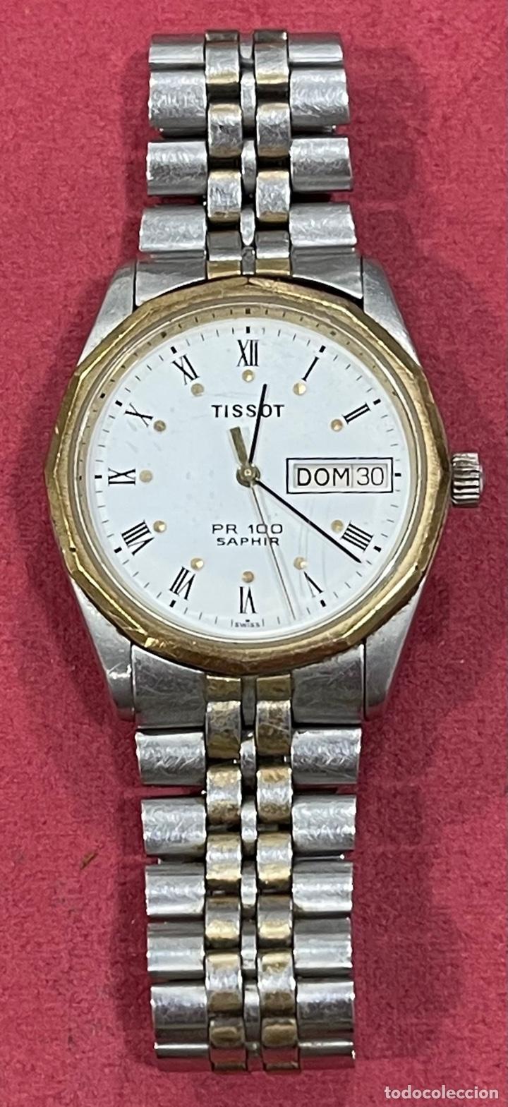 Relojes - Tissot: Reloj de pulsera, Tissot Saphir PR100. Funcionando. Armis original. - Foto 3 - 266371313