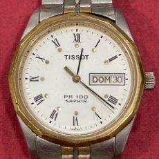 Relojes - Tissot: RELOJ DE PULSERA, TISSOT SAPHIR PR100. FUNCIONANDO. ARMIS ORIGINAL.. Lote 266371313