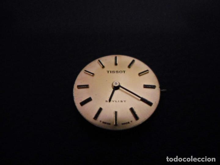 MOVIMIENTO Y ESFERA RELOJ TISSOT STYLIST DE SEÑORA COMO NUEVO REF 001 (Relojes - Relojes Actuales - Tissot)