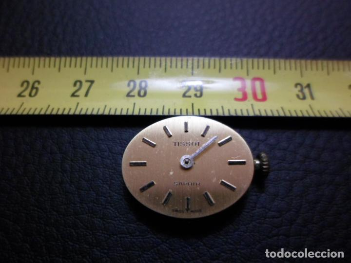 MOVIMIENTO Y ESFERA RELOJ TISSOT SAPHIR DE SEÑORA COMO NUEVO REF 002 (Relojes - Relojes Actuales - Tissot)