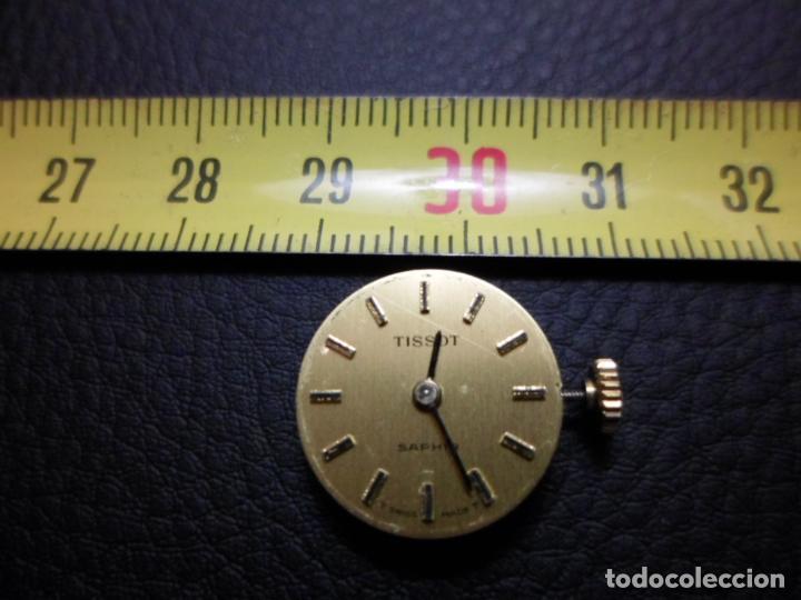 MOVIMIENTO Y ESFERA RELOJ TISSOT SAPHIR DE SEÑORA COMO NUEVO REF 003 (Relojes - Relojes Actuales - Tissot)