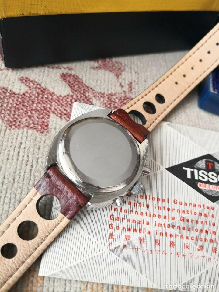 Relojes - Tissot: Tissot Seastar Navigator chronograph `70 watch Vintage Year 1970 RELOJ + CAJA - Foto 5 - 269758943