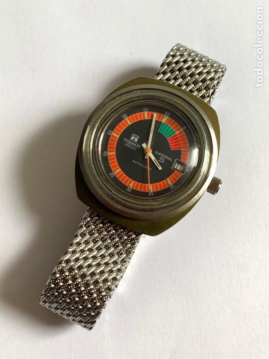 Relojes - Tissot: Reloj Colección vintage militar TISSOT SIDERAL AUTOMÁTICO DATE SWISS MADE - Foto 2 - 270154538