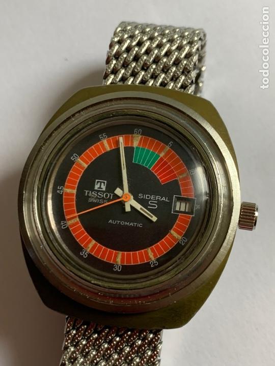 Relojes - Tissot: Reloj Colección vintage militar TISSOT SIDERAL AUTOMÁTICO DATE SWISS MADE - Foto 3 - 270154538