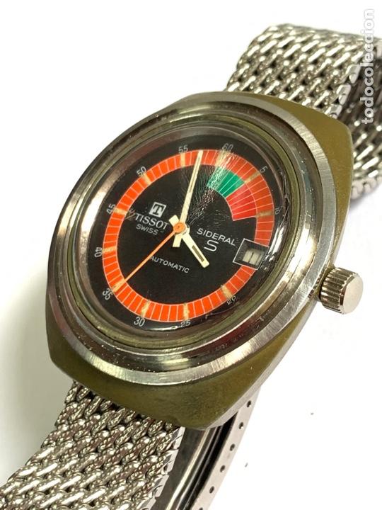 Relojes - Tissot: Reloj Colección vintage militar TISSOT SIDERAL AUTOMÁTICO DATE SWISS MADE - Foto 4 - 270154538