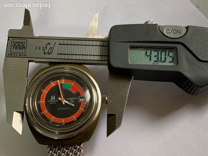 Relojes - Tissot: Reloj Colección vintage militar TISSOT SIDERAL AUTOMÁTICO DATE SWISS MADE - Foto 8 - 270154538