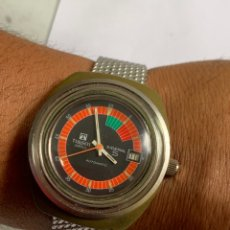 Relojes - Tissot: RELOJ COLECCIÓN VINTAGE MILITAR TISSOT SIDERAL AUTOMÁTICO DATE SWISS MADE. Lote 270154538