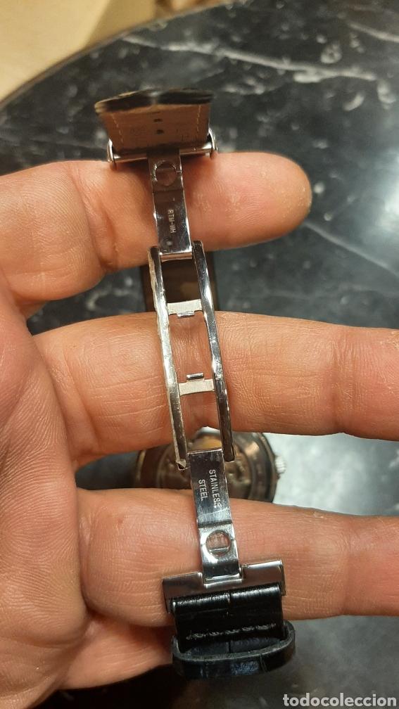 Relojes - Tissot: RELOJ TISSOT 1853 AUTOMATICO CON FECHA Y DIA EN INGLES CORREA CUERO NEGRO PERFECTO ESTADO - Foto 8 - 271040858