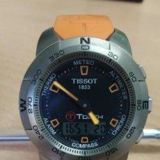 Relojes - Tissot: RELOJ TISSOT T TOUCH TITANIO Y CRISTAL ZAFIRO MULTIFUNCION ALTIMETRO TERMÓMETRO BRUJULA CRONOGRAF. Lote 273976703