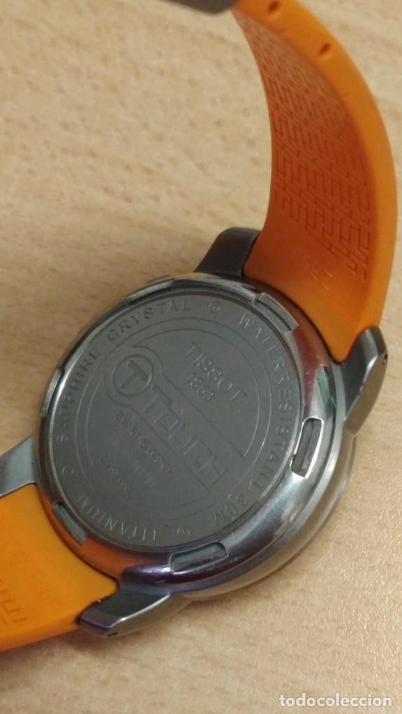 Relojes - Tissot: Reloj tissot t touch titanio y cristal zafiro multifuncion altimetro termómetro brujula cronograf - Foto 5 - 273976703